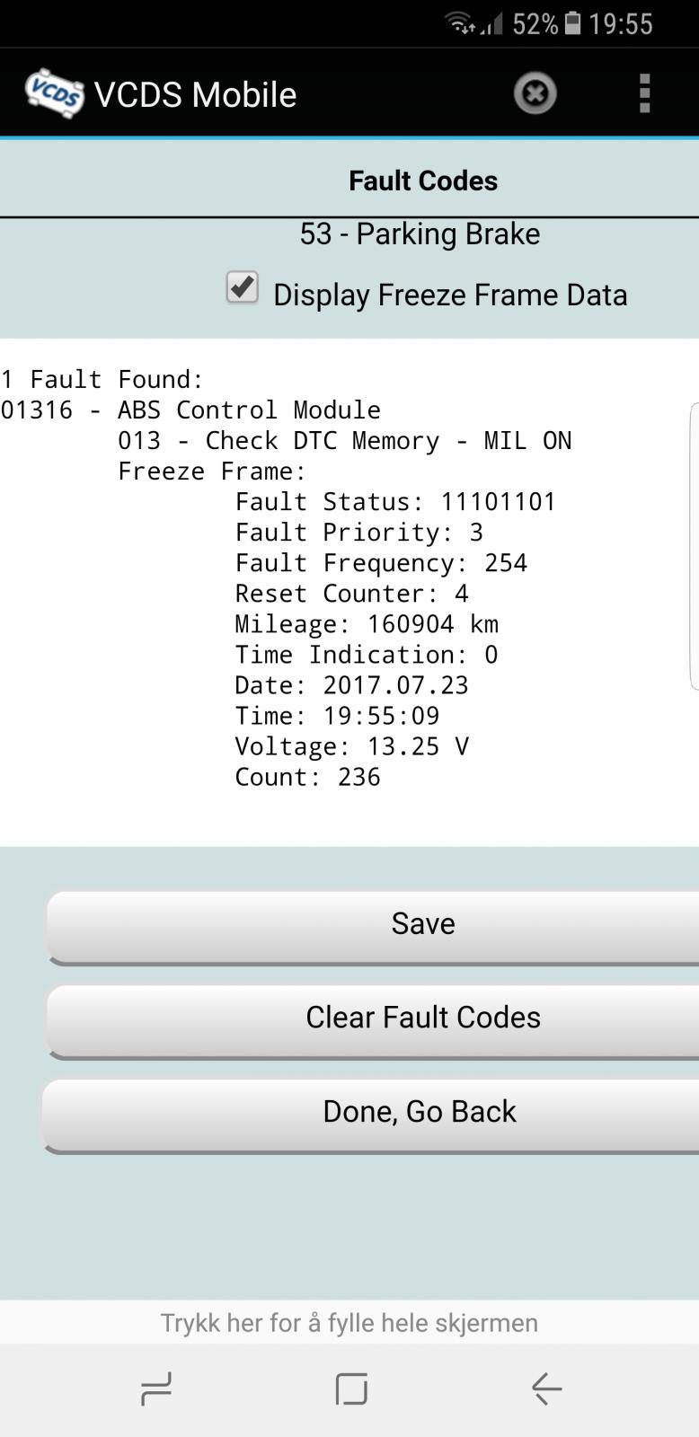 Vw Passat Fault Code 01316 ✓ Volkswagen Car